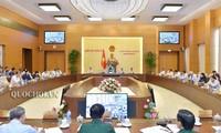 Inauguran 35 sesión del Comité Permanente del Parlamento de Vietnam