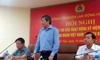 Efectúan múltiples actividades por 90 años de fundación de los sindicatos en Vietnam