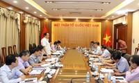 Vietnam por intensificar cooperación intersectorial en materia de diplomacia popular