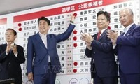 Japón: Partido del premier Abe Shinzo gana elecciones