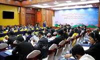 Inauguran VII seminario teórico partidos de Vietnam y Laos