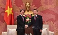 Parlamentos de Vietnam y Laos promueven medidas para estrechar lazos bilaterales