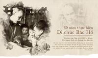 Pensamiento humanista en el testamento del presidente Ho Chi Minh