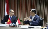 Vietnam e Indonesia impulsan cooperación en respuesta al cambio climático
