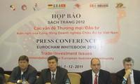 EuroCham ประกาศหนังสือปกขาวปี 2012 เกี่ยวกับบรรยากาศการการประกอบธุรกิจในเวียดนาม