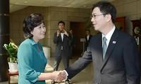 สองภาคเกาหลีเห็นพ้องที่จะจัดการเจรจาระดับรัฐบาล