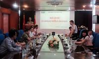 ประธานสถานีวิทยุเวียดนามให้การต้อนรับคณะเอกอัครราชทูตที่เพิ่งได้รับการแต่งตั้ง