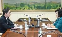 การพบปะไตรภาคี สหรัฐ ญี่ปุ่นและสาธารณรัฐเกาหลีเกี่ยวกับปัญหาเกาหลี