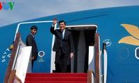 ประธานประเทศ เจืองเติ๊นซาง เยือนประเทศจีน