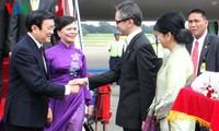 ประธานประเทศ เจืองเติ๊นซาง เยือนประเทศอินโดนีเซีย