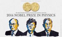 รางวัลโนเบลสาขาฟิสิกส์ 2014 เป็นของผู้ประดิษฐ์หลอดแอลอีดีสีน้ำเงิน