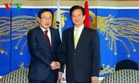 นายกรัฐมนตรี เหงียนเติ๊นหยุง ให้การต้อนรับผู้ว่าการเมืองปูซาน สาธารณรัฐเกาหลี