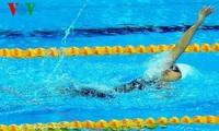 นักว่ายน้ำ เหงียนถิแอ๊งเวียนได้รับการคัดเลือกเป็นนักกีฬาดีเด่นประจำปี 2014