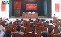 รองนายกรัฐมนตรี หวูวันนิง ลงพื้นที่พบปะกับผู้มีสิทธิ์เลือกตั้งในอำเภอ นามจึก จังหวัดนามดิ่ง