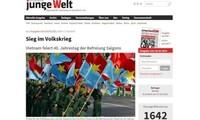 สื่อมวลชนต่างประเทศชื่นชมความหมายของชัยชนะ 30 เมษายนของเวียดนาม
