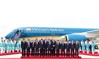 เวียดนามแอร์ไลน์เป็นสายการบินแรกของเอเชียที่ได้รับเครื่องบินแอร์บัส A350-900