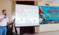 นักศึกษาเวียดนามในรัสเซียมุ่งใจสู่ทะเลและเกาะแก่งของปิตุภูมิ