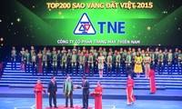 พิธีมอบรางวัลดาวทองแผ่นดินเวียดนามปี 2015