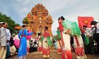 ชนเผ่าจามในจังหวัดนิงห์ถ่วนฉลองเทศกาลกาเต