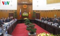เวียดนามและรัสเซียเห็นพ้องที่จะขยายความร่วมมือด้านเศรษฐกิจการค้าในเวลาที่จะถึง
