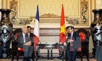 นครโฮจิมินห์จะขยายความสัมพันธ์กับท้องถิ่นต่างๆของฝรั่งเศส