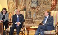 รัฐสภาเบลเยี่ยมและสภายุโรปมีความประสงค์ที่จะขยายความสัมพันธ์ด้านนิติบัญญัติกับเวียดนาม