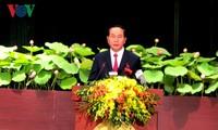 ประธานประเทศ: ส่งเสริมเกียรติประวัติ มีความคิดสร้างสรรค์และสร้างสรรค์นครโฮจิมินห์ให้พัฒนา