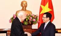 ความสัมพันธ์หุ้นส่วนยุทธศาสตร์เวียดนาม-ไทยจะพัฒนาต่อไป