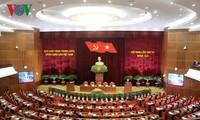 มติของที่ประชุมคณะกรรมการกลางพรรคเกี่ยวกับการปฏิบัติกระบวนการผสมผสานเข้ากับกระแสเศรษฐกิจโลก