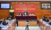 นายกรัฐมนตรีเป็นประธานการประชุมวีดีโอคอนเฟอร์เรนซ์เพื่อแก้ไขความเสียหายจากอุทกภัยในภาคกลางเวียดนาม