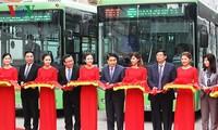 ฮานอยเปิดให้บริการรถเมล์ BRT สายกิมหมา-เอียนเหงีย