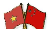 ผู้บริหารของแนวร่วมปิตุภูมิเวียดนามให้การต้อนรับคณะผู้แทนของแนวร่วมปิตุภูมินครเซี่ยงไฮ้ ประเทศจีน