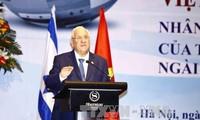 สื่ออียิปต์และอิสราเอลรายงานข่าวการเยือนเวียดนามของประธานาธิบดีอิสราเอล