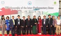 เวียดนามเข้าร่วมการประชุมสภาบริหารและการประชุมครบองค์สมัชชาใหญ่ไอพียู 136