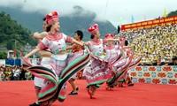 เตรียมจัดกิจกรรรมวันงานวัฒนธรรมชนเผ่าต่างๆของเวียดนาม