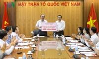 กิจกรรมสนับสนุนและช่วยเหลือประชาชนที่ประสบอุทกภัยในเขตเขาภาคเหนือเวียดนาม