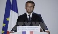 ประธานาธิบดีฝรั่งเศสประกาศวิสัยทัศน์ให้แก่อนาคตของยุโรป