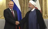 ประธานาธิบดีรัสเซียเยือนอิหร่านอย่างเป็นทางการ