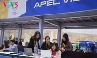 บรรยากาศการทำงานของนักข่าว ณ ศูนย์สื่อสารระหว่างประเทศเอเปก
