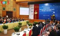 รองนายกรัฐมนตรี หวูดึ๊กดาม เข้าร่วมพิธีเปิดสถาบันวิทยาศาสตร์และเทคโนโลยีเวียดนาม-สาธารณรัฐเกาหลี