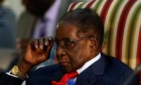 ประธานาธิบดีซิมบับเวลาออกจากตำแหน่ง