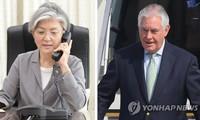 สาธารณรัฐเกาหลีและสหรัฐหารือถึงมาตรการประสานงานหลังการเจรจาระดับสูงระหว่างสองภาคเกาหลี