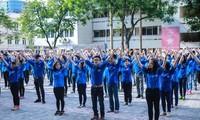 """เดือนปฏิบัติการเยาวชนปี 2018 ในหัวข้อ """"เยาวชนมีความคิดสร้างสรรค์ในการสร้างสรรค์ประเทศ"""""""