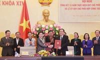ต้องผลักดันการสร้างสรรค์และปฏิบัติกิจกรรมการตรวจสอบของรัฐสภาและแนวร่วมปิตุภูมิเวียดนาม