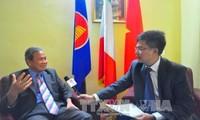 เวียดนามและอิตาลีกำลังอยู่ในระยะที่ดีที่สุดของความสัมพันธ์หุ้นส่วนยุทธศาสตร์