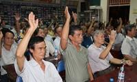 เวียดนามให้ความเคารพและอำนวยความสะดวกให้แก่การปฏิบัติสิทธิจัดตั้งสมาคม