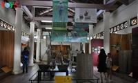 ชนบทเว้ในห้องจัดแสดงอุปกรณ์การเกษตร แทงตว่าน