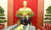 เลขาธิการใหญ่พรรคประชาชนปฏิวัติลาวและประธานประเทศลาวเยือนเวียดนาม