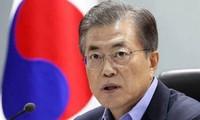 ประธานาธิบดีสาธารณรัฐเกาหลีเยือนสิงคโปร์