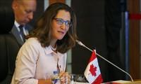 รัฐมนตรีต่างประเทศแคนาดายืนยันถึงความปรารถนาผลักดันความสัมพันธ์กับอาเซียน